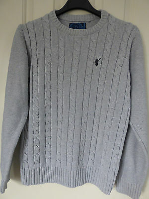 Boys/girls Grey Cotton Jumper By Blue Zoo At Debenhams, Age 11-12