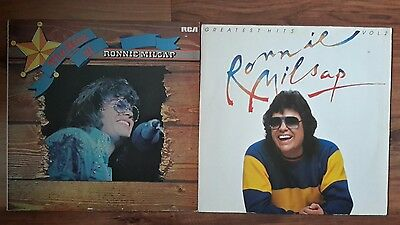 2 Ronnie Milsap Lps The Hits Of & Greatest Hits Vol 2 Excellent Condition