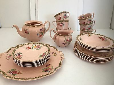 Johnson Bros Rosedawn Made In England Vintage China