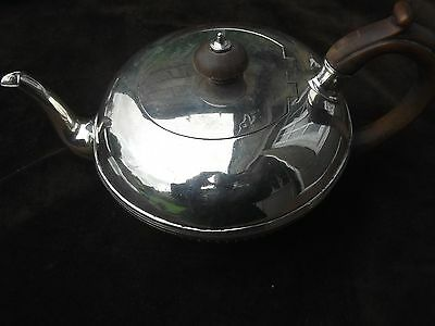 1823 George 1V irish teapot by Charles Marsh 15ozs nice fluted body