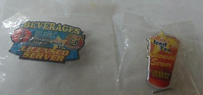 Waffle House Licensed Iced Tea and Beverages Server Pins