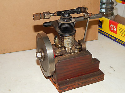 1940`s OK Super 60 RC Boat Engine Converted To Comp. Air Operation