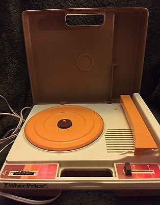 Vintage 1978 Fisher-Price Record Player.