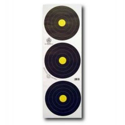 F.I.T.A. Approved Reinforced 20cm Field Archery Target Face (Triple) - Qty 10