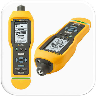 Fluke 805FC Vibration Meter with Fluke Connect. Measures 10 Hz to 1,000 Hz