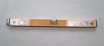 Brand new LEVELLER 1000mm (1m) BUILDERS SPIRIT LEVEL 3 vial