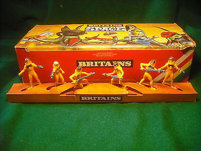 Soldatini Toy Soldiers Britains 1981 Guardiani Spaziali 1:32 serie completa