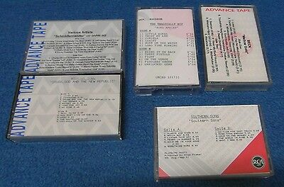 """5x Advance Tape / Promo Tape """"Southern Sons,Beck,Tragically Hip, Warrior Soul,Sc"""