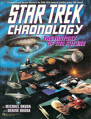 The Star Trek Chronology: The History of the Future by Denise Okuda, Michael...