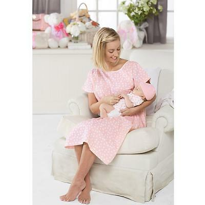 Mud Pie Mommy and Me Collection Hospital Sleep Nursing Gown Baby Hat Set 8503112