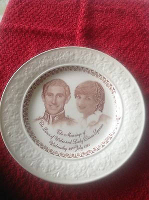 1981 Charles And Diana Commemorative Plate