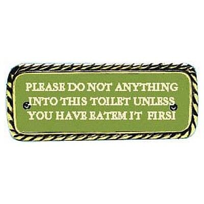 Plaque bronze Do not anything... - 32.525.10