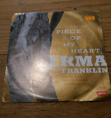 "7"" vinyl Erma Franklin single"