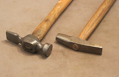 TWO VINTAGE  HAMMERS  as detailed