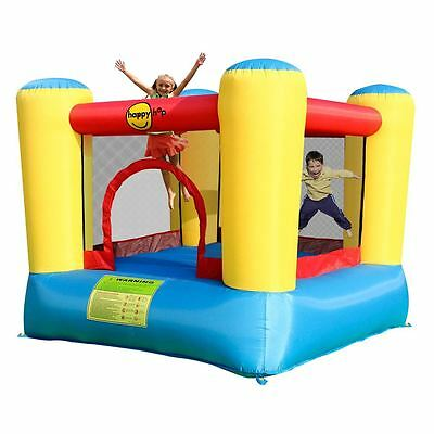 Airflow happy hop Inflatable Bouncy Castle & Swiftech T-2E Air Blower