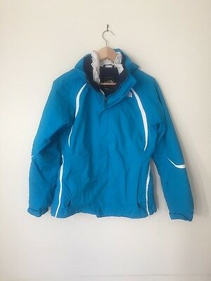 North Face Turquoise Blue ski jacket Small