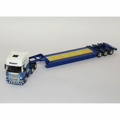 Cararama CR035 Scania Low Loader - Eddie Stobart Rail 1:50 Scale