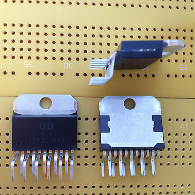 High Voltage High Current OP Amplifier OPA549TG3 11 pin TO-220 Multi Qty