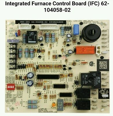 Rheem Ruud Integrated Furnace Control Board (IFC) 62-104058-02