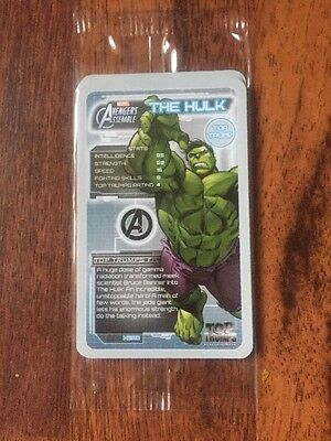 Avengers Age Of Ultron Mini Booster Top Trumps New