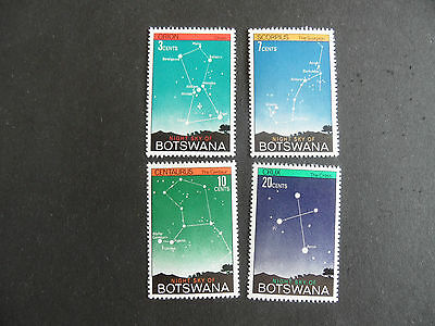 Botswana 1972 Sg 290-293 Night Sky Mnh