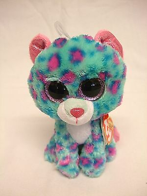 Rare Ty Beanie Boos/Boo Sydney Approx 6'' / 15cms Claire's Exclusive