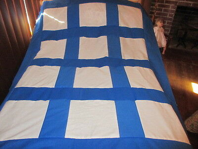 Sale Quilt Top Hand Made Blank Blocks For Your Appliques  Or Embroidering