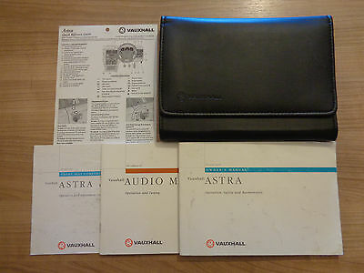 Vauxhall Astra MK3 Owners Handbook/Manual and Wallet