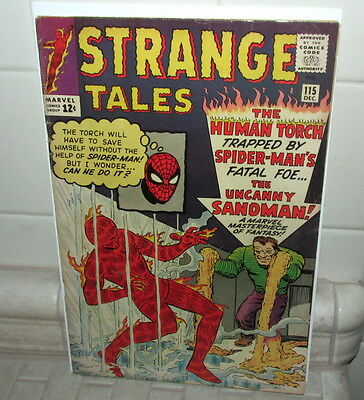Strange Tales  #115 1963 Marvel,,very Nice Condition ,my Comic ,had As A Kid
