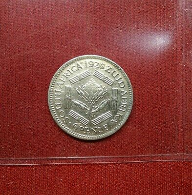 South Africa 6 Pence, 1926, Higher Grade World Coin