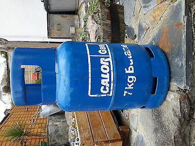 Calor gas bottle 7kg empty