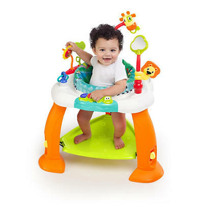 Bright Starts Bounce Bounce Baby Activity 360 Degree Rotating Saucer Entertainer