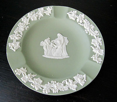 Vintage Wedgwood Jasperware Jade Ashtray
