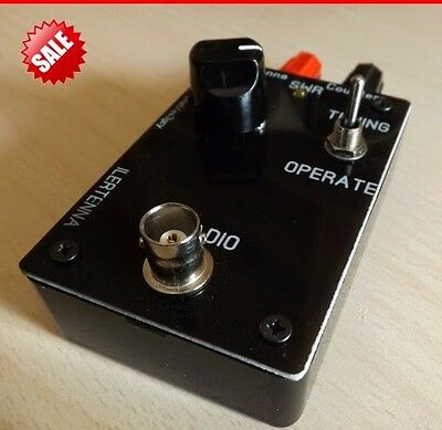 QRP **BUILT & READY for use** EndFed Antenna Tuner HF 40-15m (30-10m modified)