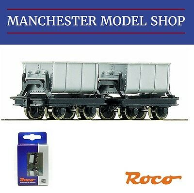 Roco 34601 HOe 1:87 Cement tipping wagons 2 piece set 009 9mm gauge NEW BOXED