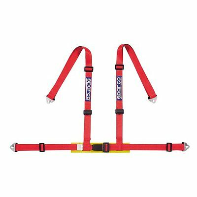 Red Sparco Harness 04604Bmrs