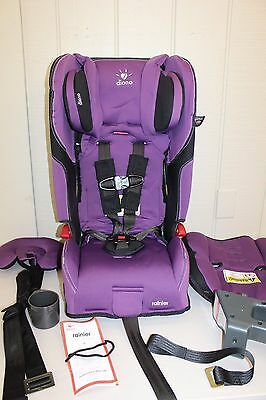 Diono Rainier Convertible + Booster Car Seat - Orchid (30330) USED