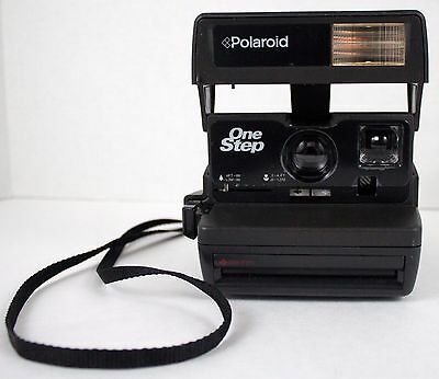 Vintage Polaroid One Step Instant 600 Film Camera Tested