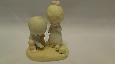 """Precious Moments """"thou Art Mine"""" New In The Box~Great Collectable"""