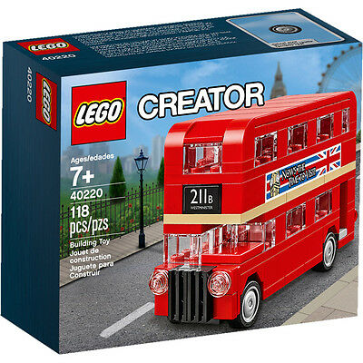 LEGO - Creator 40220 LONDON BUS  Brand New, Genuine and Sealed