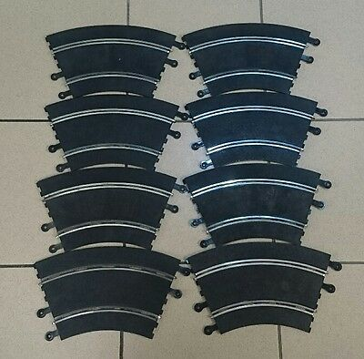scalextric classic track track curves x 9