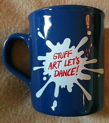 Very Rare Vintage Mug From Original 1991 Moby Dick Musical Stuff Art Lets Dance!