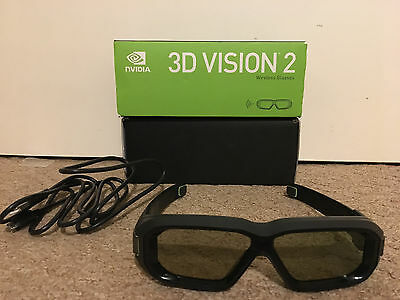 NVIDIA 3D Vision 2 Glasses Wireless with Original Package