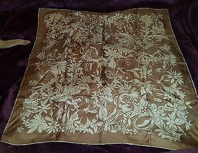Beautiful vintage square scarf jacqmar of London