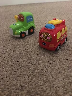Vtech Toot Toot Drivers Tractor & Fire Engine