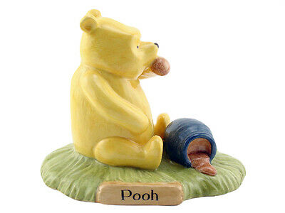 Royal Doulton Winnie The Pooh Limited Edition Figurine - Pooh Began To Eat WP28