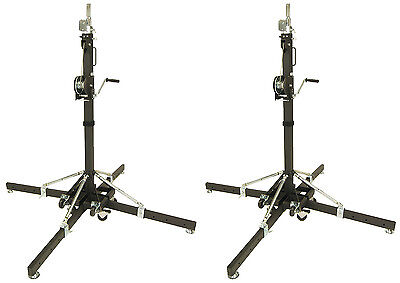 Global Truss ST157 Crank Light Stand with Outriggers - New Demo - Discounted.