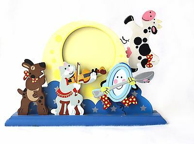 Mother Goose Nursery Picture Frame Cow Jumped Over the Moon Baby Melissa & Doug