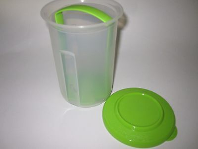 Tupperware Small Round Pick a Deli Container Storage Olives Jalapenos Pickles GR