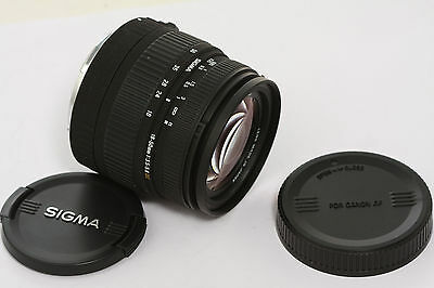 Sigma 18-50 Dc  F/3.5-5.6 Zoom Lens Eos Canon Ef-S